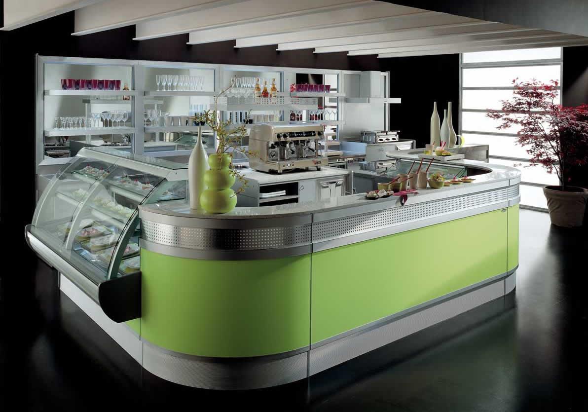 Arredo bar modello linear lecce for Arredo bar lecce