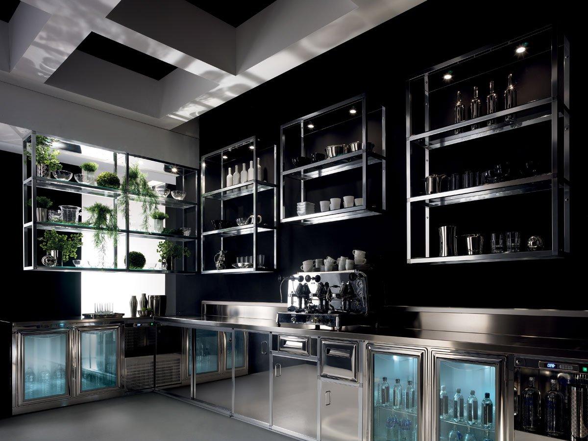 Arredo bar modello alukuadro lecce for Arredo bar lecce