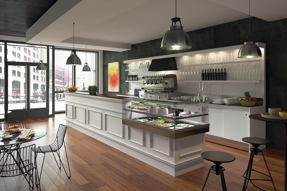 Arredamento Bar Stile Vintage : Linee arredo per bar e attività di ristorazione italdecò
