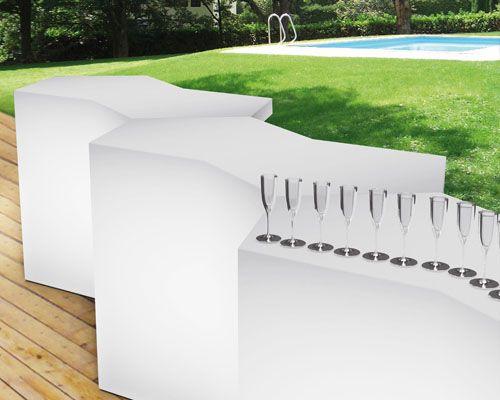Iceberg bancone modulare da esterno lecce for Arredo bar lecce