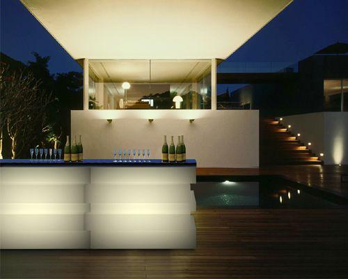 Bancone da bar modulare e componibile tetris lecce for Arredo bar lecce